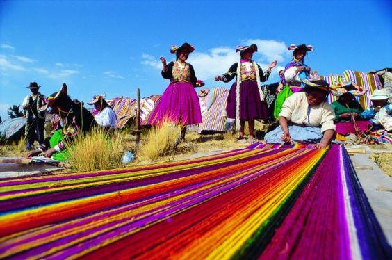 Textilería, arte prehispánico presente hoy en día