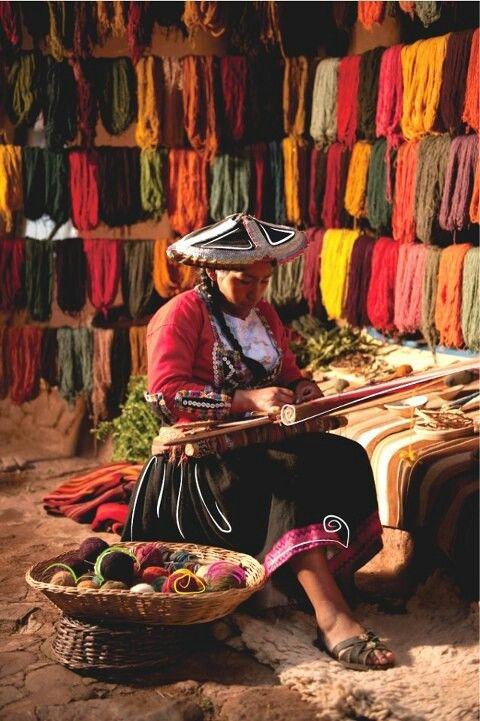 artesana peruano, artesanía