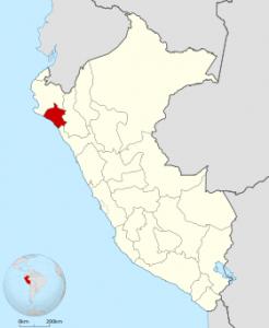 Mapa de Lambayeque