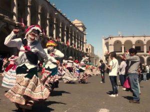 Celebración en la ciudad de Arequipa