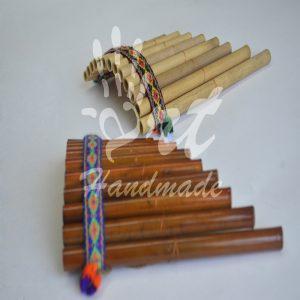 Hecho A Mano Artesanal Shipibo Coctelerade PerúInstrumento musical de percusión